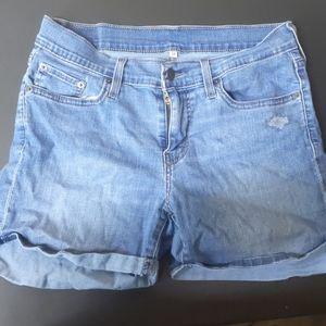 Levi's blue jean shorts sz 32